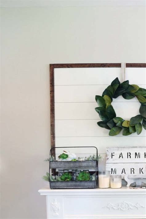 Framed Shiplap by Framed Shiplap Diy Tutorial At Home With Natalie