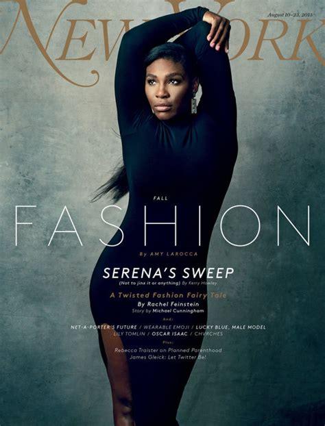 Une Vanité by Serena Williams En Une Du New York Magazine Vanity Fair