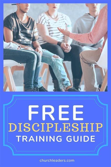 discipleship training guide   discipleship