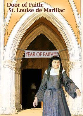 door  faith st louise de marillac vinformation