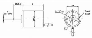 Nema 17 Round Brushless Dc Motor