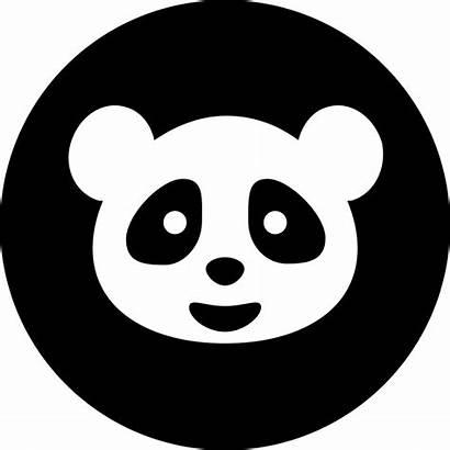 Panda Icon Google Symbol Circular Icons Bear