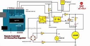 Remote Control Ac Dimmer Arduino  Zero Cross Detector