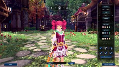 aura kingdom classes character creation female youtube