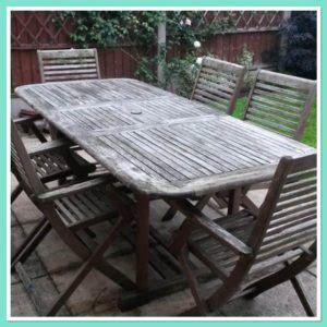 paint garden furniture  pastel colours
