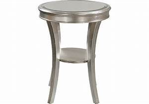 Waterbury Silver Accent Table - Accent Tables Colors