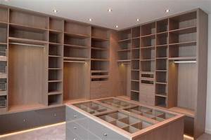 Prix Dressing Sur Mesure : dressing sur mesure contemporain armoire et dressing ~ Premium-room.com Idées de Décoration