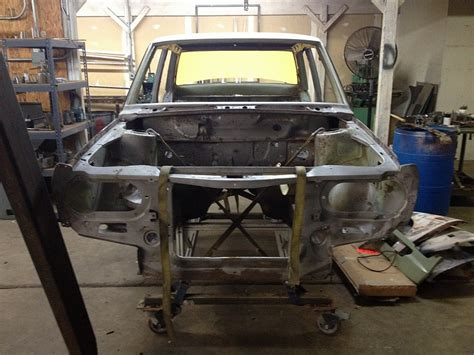 Datsun 510 Restoration by Datsun 510 Restoration Metal Work Uk Motorsports