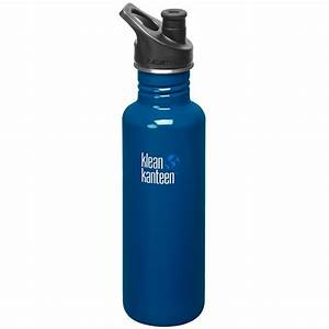 Klean Kanteen Classic 800ml Bottle with Sport Cap 3.0 Blue ...