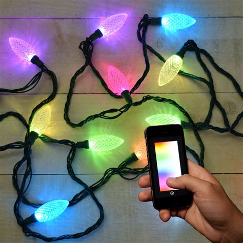 app controlled string lights lumenplay app enabled christmas lights