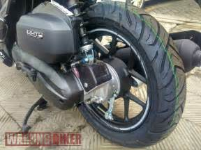 Vario 125 Ring 14 by Vario 150 Black Matte Limited Edition Pakai Ban Fdr Sport