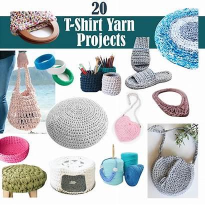 Yarn Projects Tshirt Crochet Craft Shirts Patterns