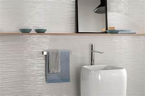 faience murale 3d wall salle de bain carrelage avignon With carrelage adhesif salle de bain avec barre de lumiere led