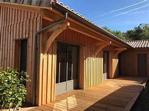 Maison En Bois Tout Compris : maison ossature bois bardage vertical lacanau ~ Melissatoandfro.com Idées de Décoration