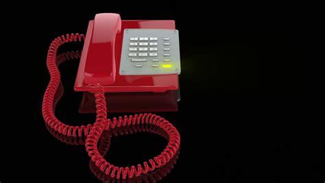 light up when phone ringing emergency phone ringing light stock footage