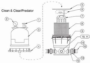 Pentair Pool Filter Parts Diagram