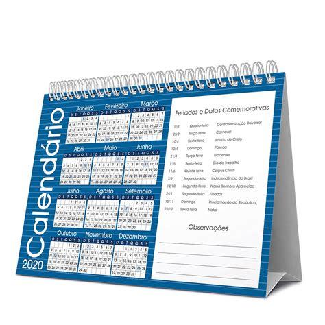 calendario de mesa case azul spiral brf