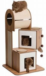 Arbre À Chat Pour Gros Chat : l 39 arbre chat arbre chat vesper le top design pour ~ Nature-et-papiers.com Idées de Décoration