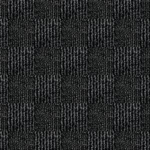 First impressions city block black ice texture 24 in x 24 for Black office carpet texture
