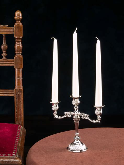 Candeliere Antico by Candeliere Candeliere Stile Antico 3 Fiamme Candelabro