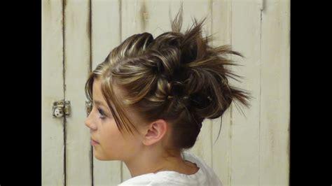 style hair updo styles  short hair hairstyles
