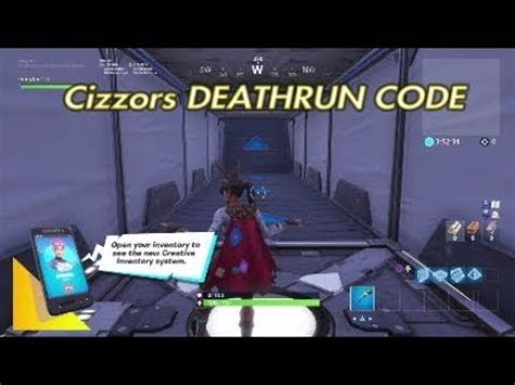 fortnite cizzorz deathrun  obstacle completed