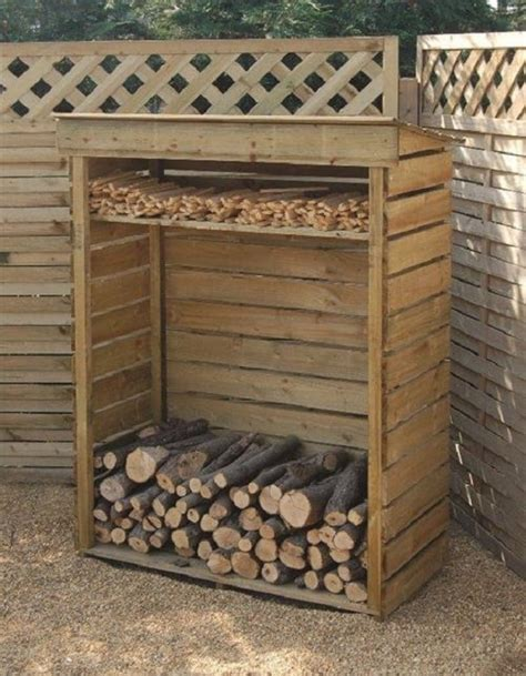 homemade diy firewood racks ideas balcony garden web