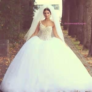 my big wedding dresses glamorous asymmetrical neck sequins skirt lined big gown wedding dresses 2014