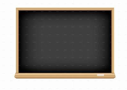 Blackboard Empty Chalkboard Background Gray