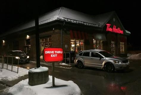 slow sales  tim hortons okanagan edge