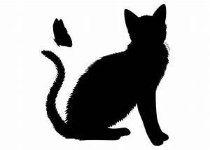 Schablonen Zum Streichen : die besten 25 wandtattoo katze ideen auf pinterest wall tattoos scherenschnitt katze und ~ Orissabook.com Haus und Dekorationen