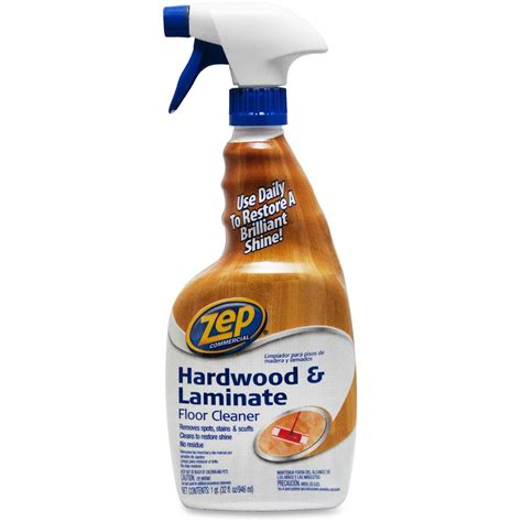 hardwood floor care products zep 32 oz professional strength hardwood floor cleaner zpe1041723 the home depot