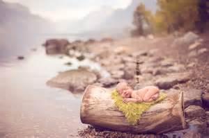 Newborn Baby Outdoor Photography