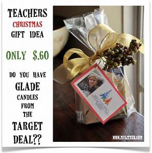 Teacher s Gift Idea for Christmas Do you have Glade