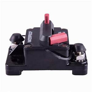 12v Inline Auto Boat Waterproof Circuit Breaker Protection