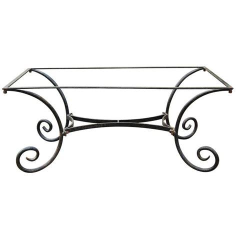 metal table base for sale vintage metal dining table base at 1stdibs