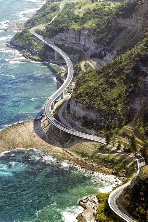Sea Cliff Bridge — Spectacular Coastal Bridge Coast Of