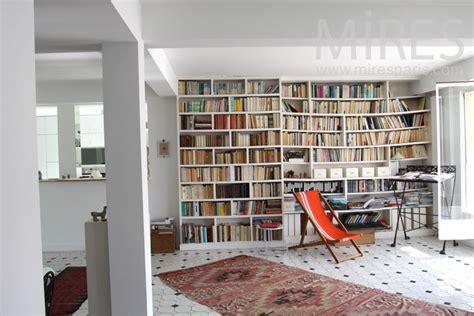 piano de cuisine salon bibliothèque c0834 mires