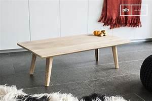 Table Basse Nordique : table basse m ka le style nordique s 39 invite dans votre pib ~ Teatrodelosmanantiales.com Idées de Décoration