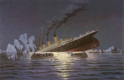 what year did the titanic sink click on a hundred years ago the sinking of the