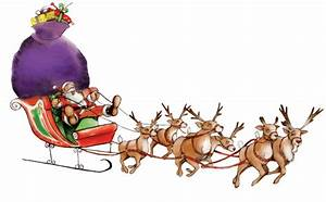 Santa Claus Sleigh Png | www.imgkid.com - The Image Kid ...