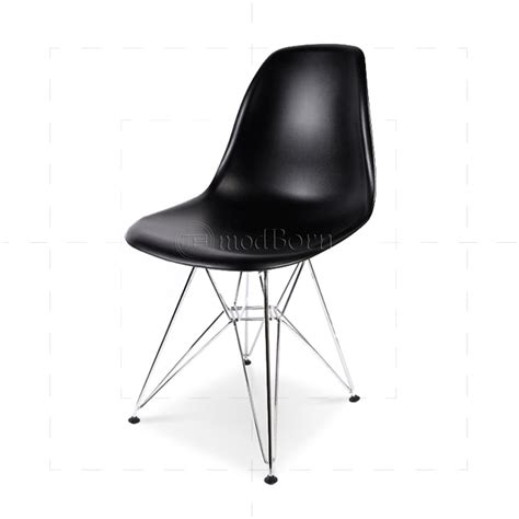 chaise dsr affordable eames style dining dsr eiffel chair black with