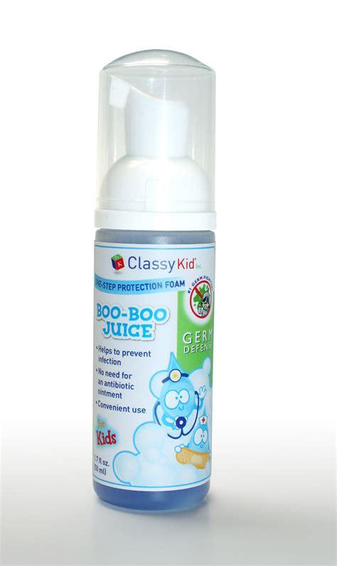 classy kid  announces  foaming hand sanitizer