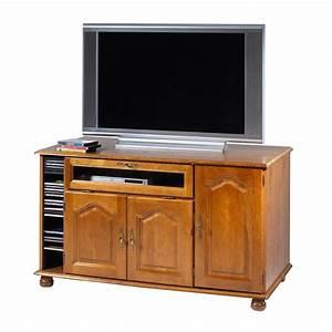 Grand Meuble Tv : meuble tv ch ne grand ecran maison et styles ~ Teatrodelosmanantiales.com Idées de Décoration