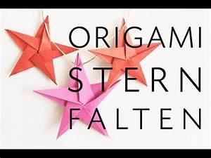 Origami Stern 5 Zacken : basteln aurelio stern basteln 3d weihnachtssterne einfache anleitung f r sch ne deko sterne ~ Watch28wear.com Haus und Dekorationen