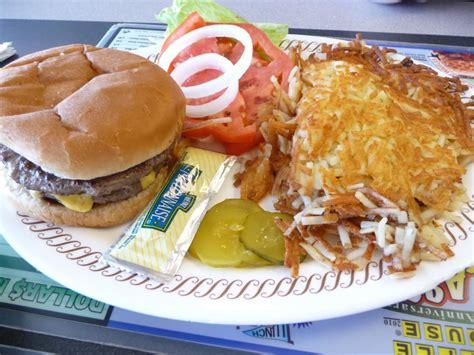 Waffle House Cheeseburger