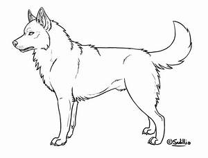 Free Coloring Pages Of F Husky