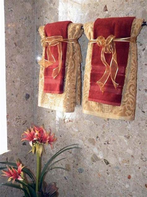bathroom towel hanging ideas ways to hang bath towel decoratively ayanahouse