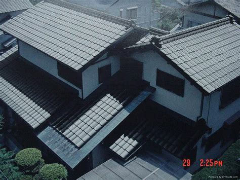 colored smc frp roof tiles japanese style bfrp china