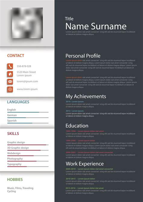 blank resume forms  printable resume templates